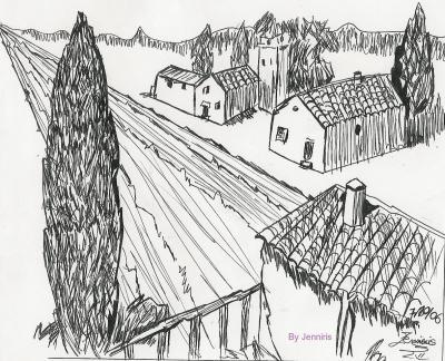 Dessin des dessins - Dessiner un paysage ...