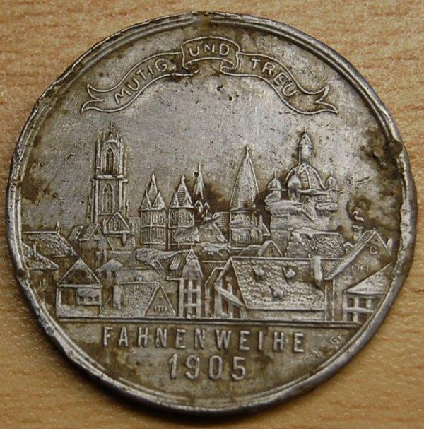 Médaille Allemande, pour la consécration d'un drapeau religieux en 1905 3194062033_1_10_eikVhmpa